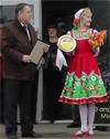 Открытие выставки наша продукция 2013 в Новоалтайске