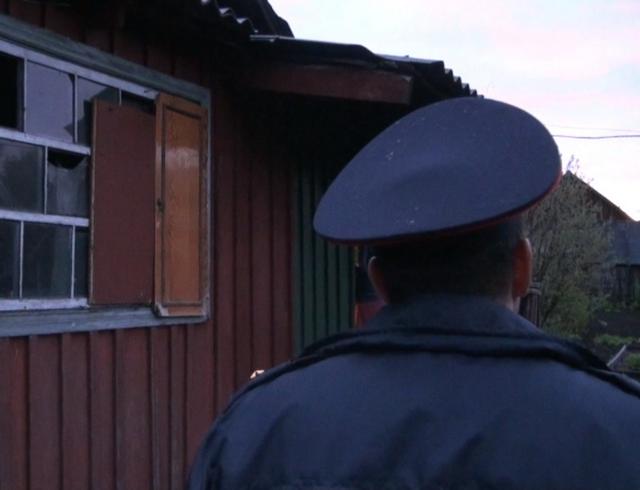 Место, где был задержан подозреваемый за убиство в Новоалтайске 15.05.2013