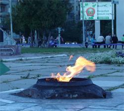 Митинг, в честь Дня памяти и скорби в Новоалтайске