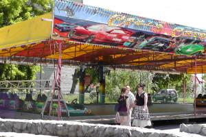 Автодром, Автодром, Парк аттракционов на площади ДК АВЗ в Новоалтайске