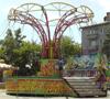 Фото парка аттракционов на площади ДК АВЗ в Новоалтайске