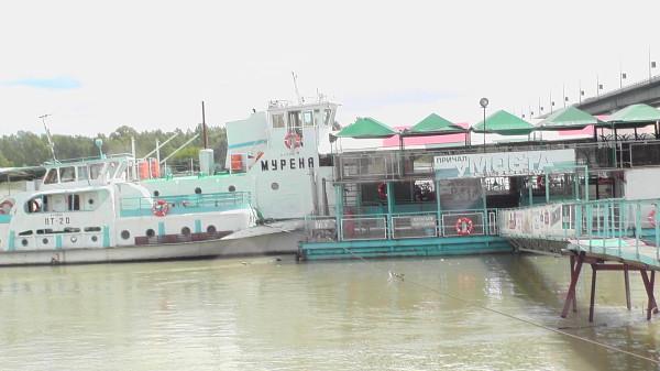 Причал у Моста, Барнаул, речной вокзал