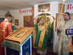 епископ Алтайский посетил новоалтайский храм Симеона Верхотурского