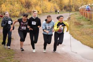 Новоалтайская команда в кроссе золотая осень