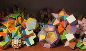 Выставка модульнуе оригами в Новоалтайске