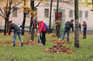 проведение субботника санитарная очистка Новоалтайска