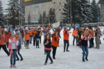 Флеш-моб в Новоалтайсе в поддержку хора Алтайского края