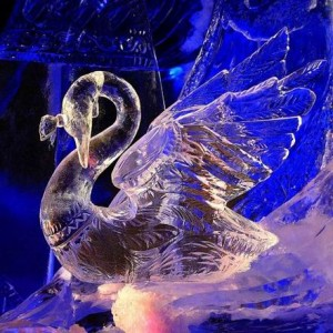 снежные фигуры фигуры изо льда новый год