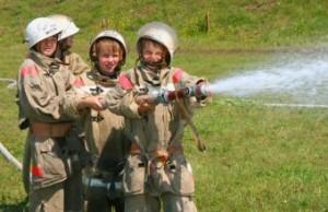дружина юных пожарных школьники