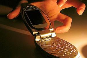 похититель телефона