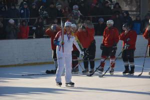 Краевой олимпийский фестиваль хоккея в Новоалтайске 26-01-2014