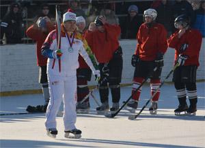 Краевой олимпийский фестиваль хоккея в Новоалтайске