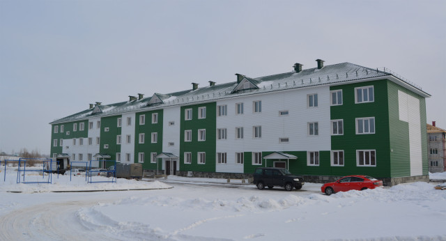 Новый дом по адресу Прудская 15в в Новоалтайске