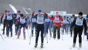 лыжня России гонка старт