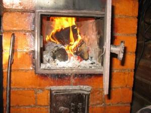 пожар печь отопление возгорание