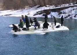 зимняя рыбалка лед
