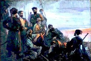 Выставка картин художника Ивана Торопова Казачья Слава в Новоалтайске
