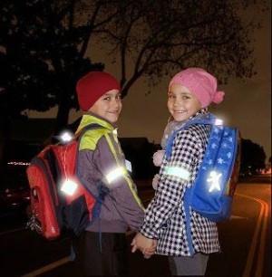 безопасность дети фликер пешеход