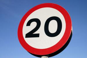 дорожный знак ограничение скорости ГИБДД