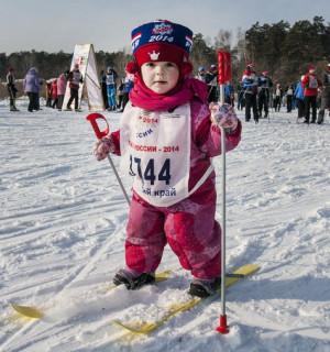 лыжня России 2014 Олимпиада в Сочи