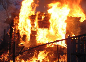пожар возгорание мчс