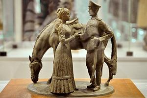 прощание славянки выставка скульптура