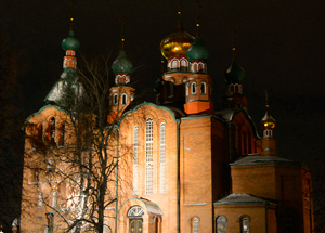 Богослужения в Свято-Георгиевской в Новоалтайскецеркви