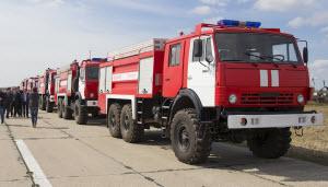Завтра в Барнауле состоится парад пожарной техники