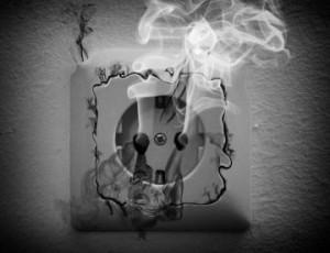 электропроводка пожар спасатели огнеборцы