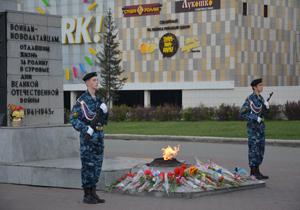 Митинг памяти и скорби в Новоалтайске 20 июня 2014