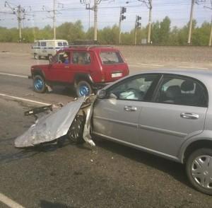 На трассе под Новоалтайском 16 и 17 июня произошли два серьезных ДТП