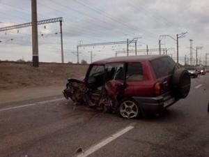 Аварии 16 и 17 июня 2014 года на трассе под Новоалтайском