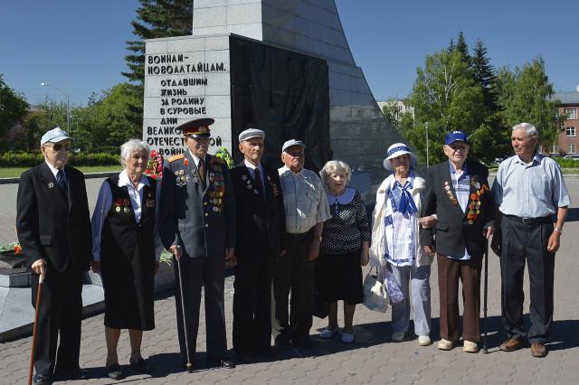Новоалтайск. Митинг памяти и скорби 2014. Ветераны.