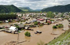 Паводковая обстановка в Алтайском крае