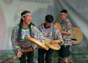 В барнаульском парке «Лесная сказка» состоялся кочующий фестиваль народов севера