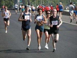 Легкоатлетический марафон и открытие стадиона