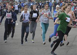 Легкоатлетический марафон в Новоалтайске 2014