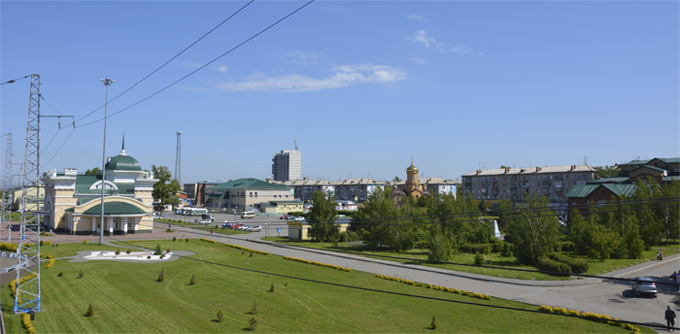 Город Новоалтайск - Вокзал