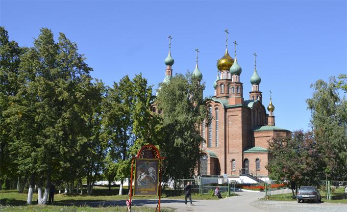 Новоалтайск - храм Святого Георгия