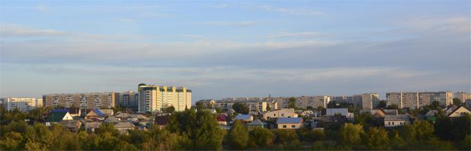 Новоалтайск - вид на Стройку