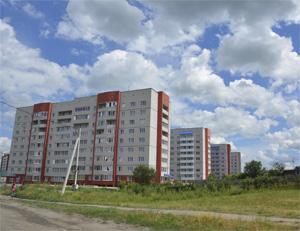 Новые дома в Новоалтайске
