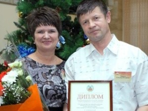 Семья из ЗАТО Сибирский признана лучшей приемной семьей