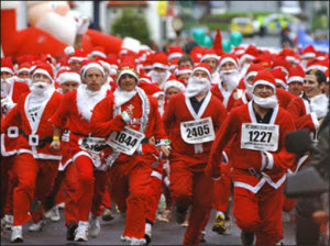 В Барнауле пройдет «Забег Дедов Морозов»