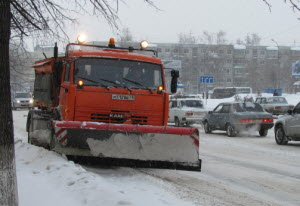 В Новоалтайске среднемесячная норма выпавшего снега превышена в 2,5 раза