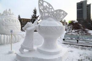 В Новоалтайске объявлен конкурс снежных мастеров