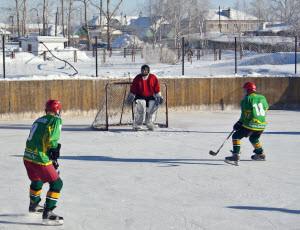В Тальменском районе открылся филиал хоккейной спортшколы «Алтай»
