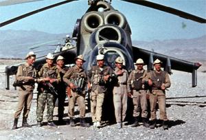 Мероприятие Русский солдат на афганской войне