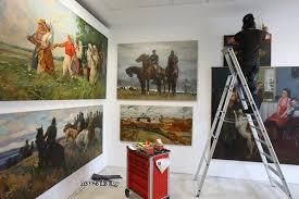 В Новоалтайске открывается выставка художников реалистов