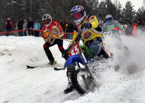 В Барнауле проходят соревнования по скийорингу