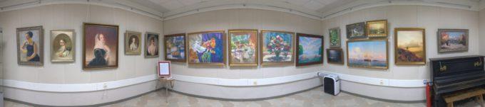 Выставка Шедевры Художественного музея в Новоалтайске июль 2018